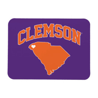 Clemson With South Carolina Magnet