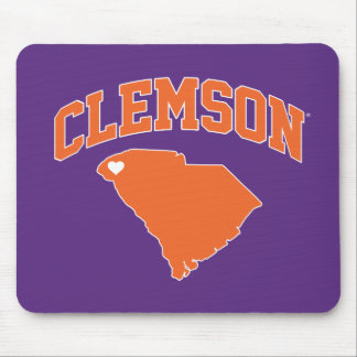Clemson With South Carolina Mouse Pad