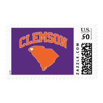 Clemson With South Carolina Postage
