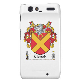 Clench Family Crest Droid RAZR Cover