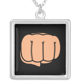 Clenched Fist Necklace