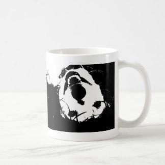 Cleo blanco y negro taza de café