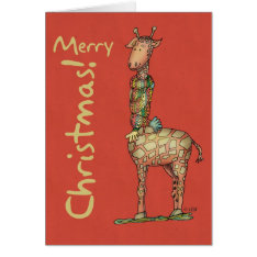 Cleo Christmas Card at Zazzle