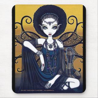 Cleo Egyptian Cobra Faerie Goddess Mousepad