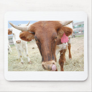 Cleo the Cow Mouse Mat
