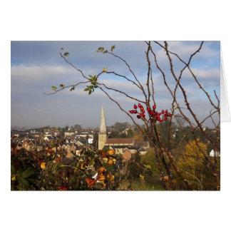 Cleobury Mortimer. Shropshire. Inglaterra. Reino Tarjeta De Felicitación