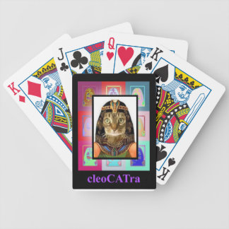 CleoCATra is a pussycat! Bicycle Playing Cards