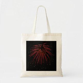 Cleome Fireworks Photo Art Budget Tote