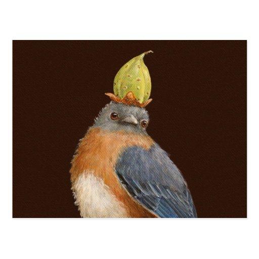 Cleome la postal del bluebird
