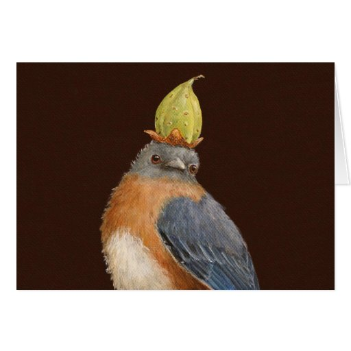 Cleome la tarjeta del bluebird