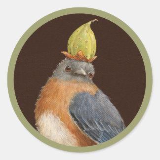 Cleome the bluebird stickers