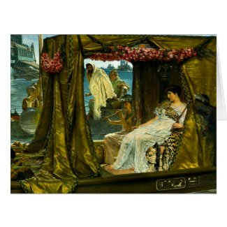Cleopatra and Anthony 1883 Large Greeting Card