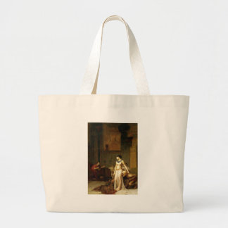 Cleopatra and Caesar Canvas Bag