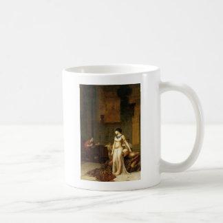 Cleopatra and Caesar Classic White Coffee Mug