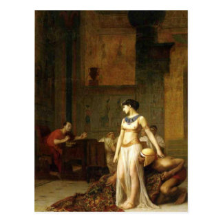 Cleopatra and Caesar Post Cards