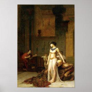 Cleopatra and Caesar Poster