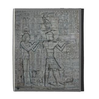 Cleopatra and Caesarion iPad Folio Case
