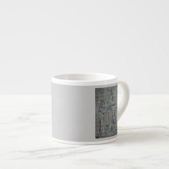 Cleopatra and Caesarion Espresso Cup