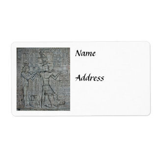 Cleopatra and Caesarion Personalized Shipping Label