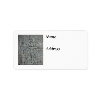 Cleopatra and Caesarion Label
