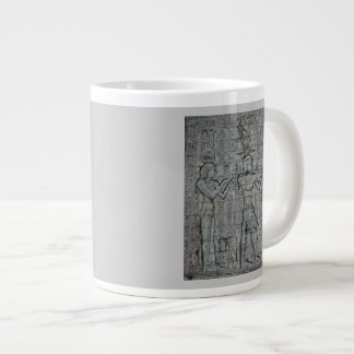 Cleopatra and Caesarion Large Coffee Mug