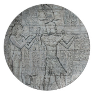 Cleopatra and Caesarion Plate