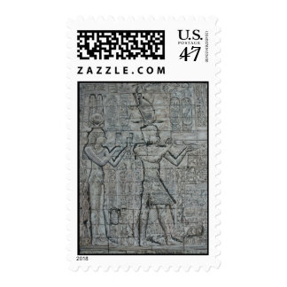 Cleopatra and Caesarion Postage Stamp