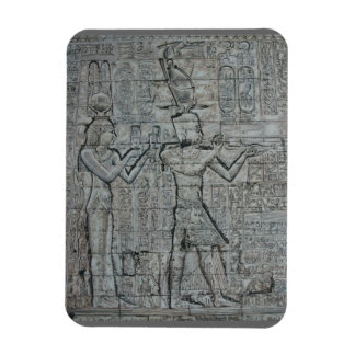 Cleopatra and Caesarion Rectangular Photo Magnet