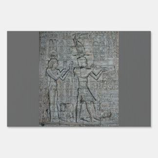 Cleopatra and Caesarion Sign
