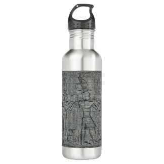 Cleopatra and Caesarion Stainless Steel Water Bottle