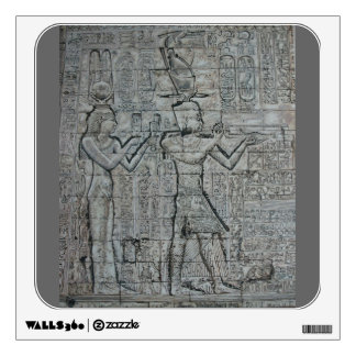 Cleopatra and Caesarion Wall Decal