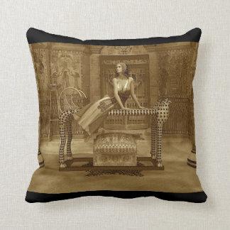 Cleopatra - califique una almohada de tiro del
