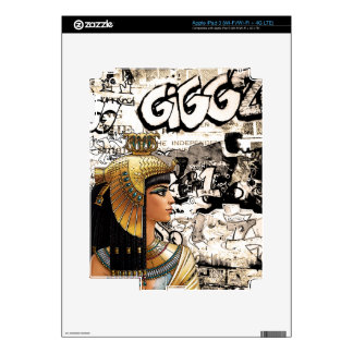 Cleopatra Decal For iPad 3