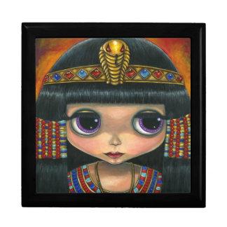 Cleopatra Doll with Jeweled Snake Headpiece Keepsake Boxes