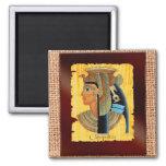"""Cleopatra"" Egyptian Art Magnets"