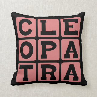 Cleopatra, Egyptian Pharaoh Pillows
