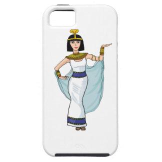 Cleopatra el Pharaoh de Egipto iPhone 5 Case-Mate Fundas
