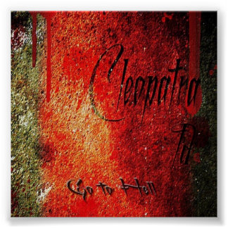Cleopatra ID Single Hit Album Canvas Print