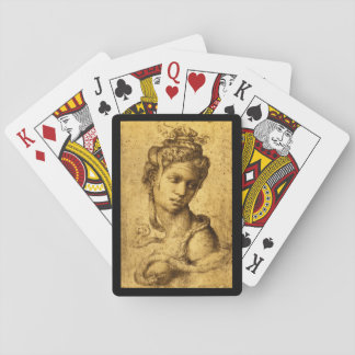 Cleopatra', Michelangelo_Studies of the Masters Playing Cards