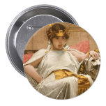 Cleopatra Pin Redondo De 3 Pulgadas