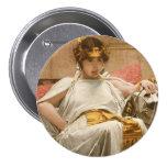 Cleopatra Pinback Button