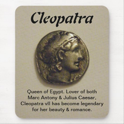 Cleopatra Queen of Egypt Mousepad