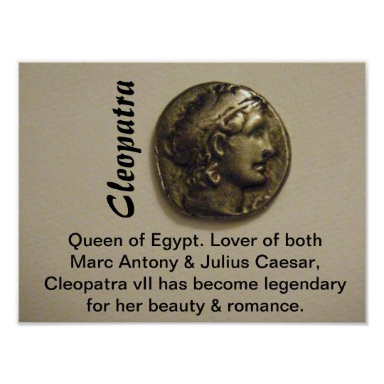 Cleopatra Queen of Egypt Print