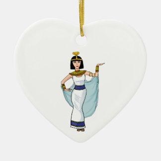Cleopatra the Pharaoh of Egypt Ceramic Ornament