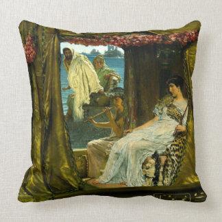 Cleopatra y Anthony 1883 Cojín