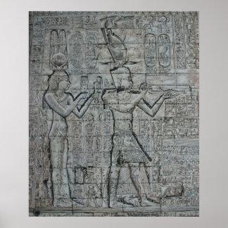 Cleopatra y Caesarion Posters
