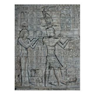 Cleopatra y Caesarion Tarjeta Postal
