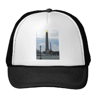 Cleopatra's Needle and Eiffel Tower Hat