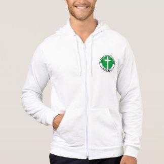 Clergy in Green Hoodies