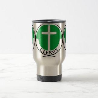 Clergy in Green Travel Mug